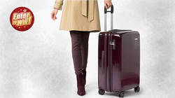 Win the Sympatico Medium Expandable Spinner (Plum Coloured) luggage from Briggs & Riley (RRP £529)