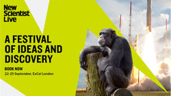 New Scientist Live at Excel London this September
